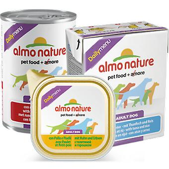Almo Nature Daily Menu Tuna And Swordfish (Dogs , Dog Food , Wet Food)