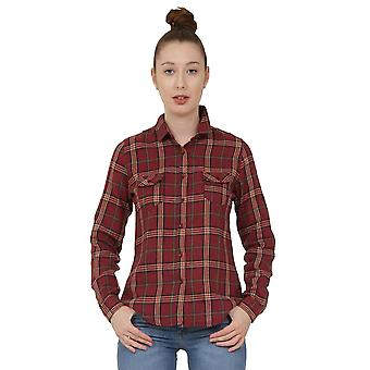 Tartan Check Shirt - Red