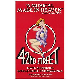 42nd street (Musical di Broadway) Movie Poster (11x17)