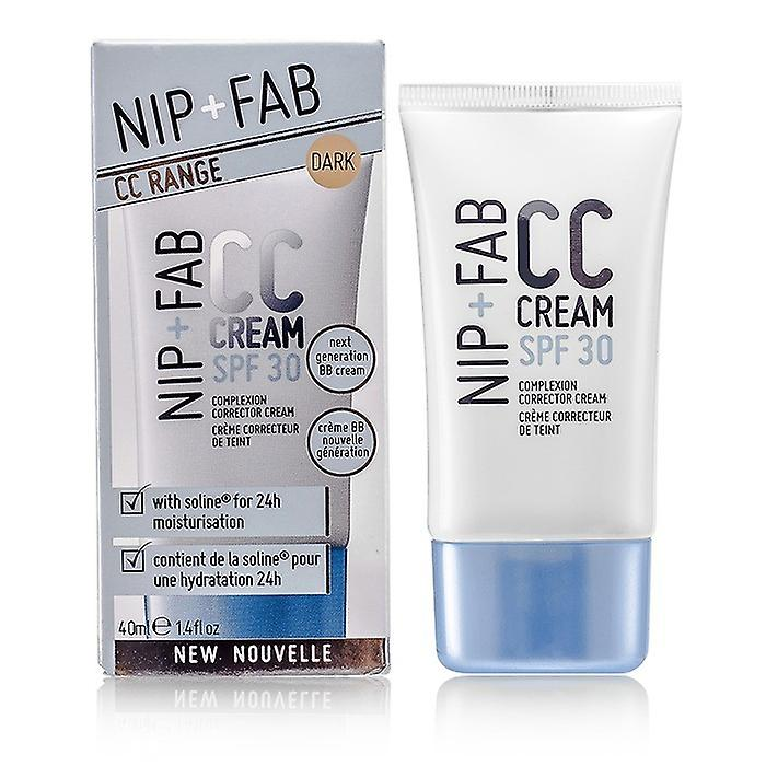 NIP + FAB CC Cream SPF 30 - # Dark 40ml / 1.4 oz