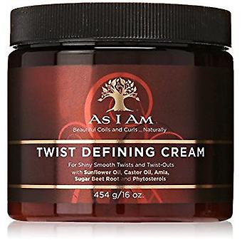 As I Am Twist Defining Cream 16oz