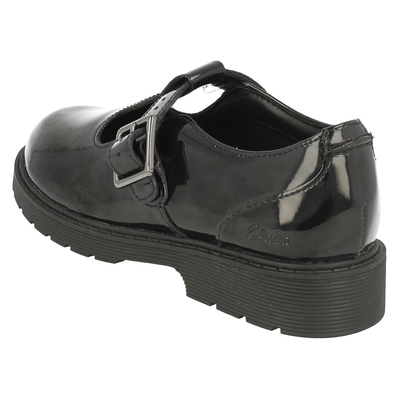 Girls Clarks T Bar School Shoes Purley Go Fruugo