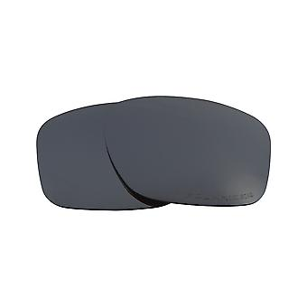 New SEEK Replacement Lenses Compatible for Oakley SLIVER Asian Fit Black Iridium