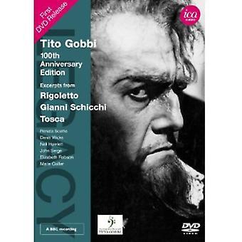 Verdi/Puccini - Tito Gobbi: 100: e Anniversary Edition [DVD] USA import