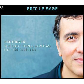 Beethoven/Eric Le Sage - Last Three Sons 109 110 & 111 [CD] USA import