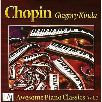 Gregory Kinda - Awesome Piano Classics Vol. 2: Chopin [CD] USA import