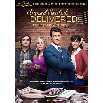 Signed Sealed Delivered: From Paris with Love [DVD] USA import
