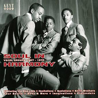 Soul in Harmony Vocal Groups 1967-77 - Soul in Harmony-Vocal Groups 1967-1977 [CD] USA import