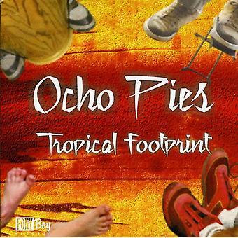 Ocho tærter - tropiske Footprint [CD] USA importerer