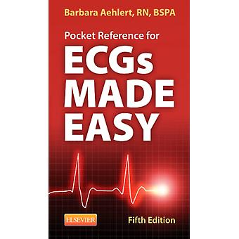 Pocket Reference for ECGs Made Easy 5e (Paperback) by Aehlert Barbara