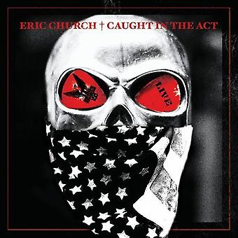 Eric Church - fanget i akt Live [CD] USA importen