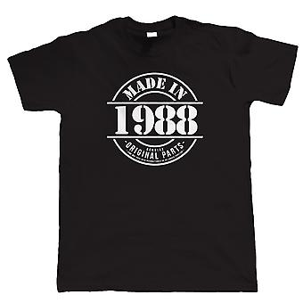 Made in 1988 Mens Funny T Shirt