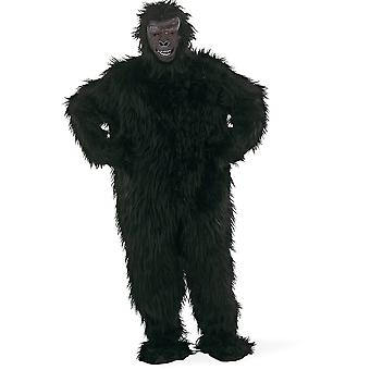 Black Gorilla men's costume ape monkey men costume
