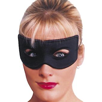 Bandit eye mask, black