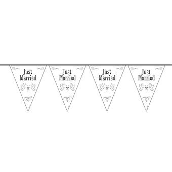 Pennant Garland just married 10 m decoration wedding guestbooks