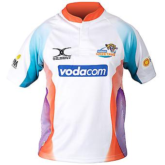 GILBERT Cheetahs Home Super 14 Rugby Shirt [white]