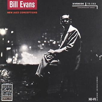 Bill Evans - nya Jazz befruktningar [CD] USA import