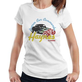 Haynes Custom Car Commandos ziehen Hotrod Damen T-Shirt