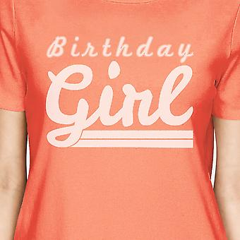 Birthday Boy Womens Green Round Neck Shirt Unique Gift Tee For Her