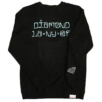 Diamond Supply Co Cities Sweatshirt Black