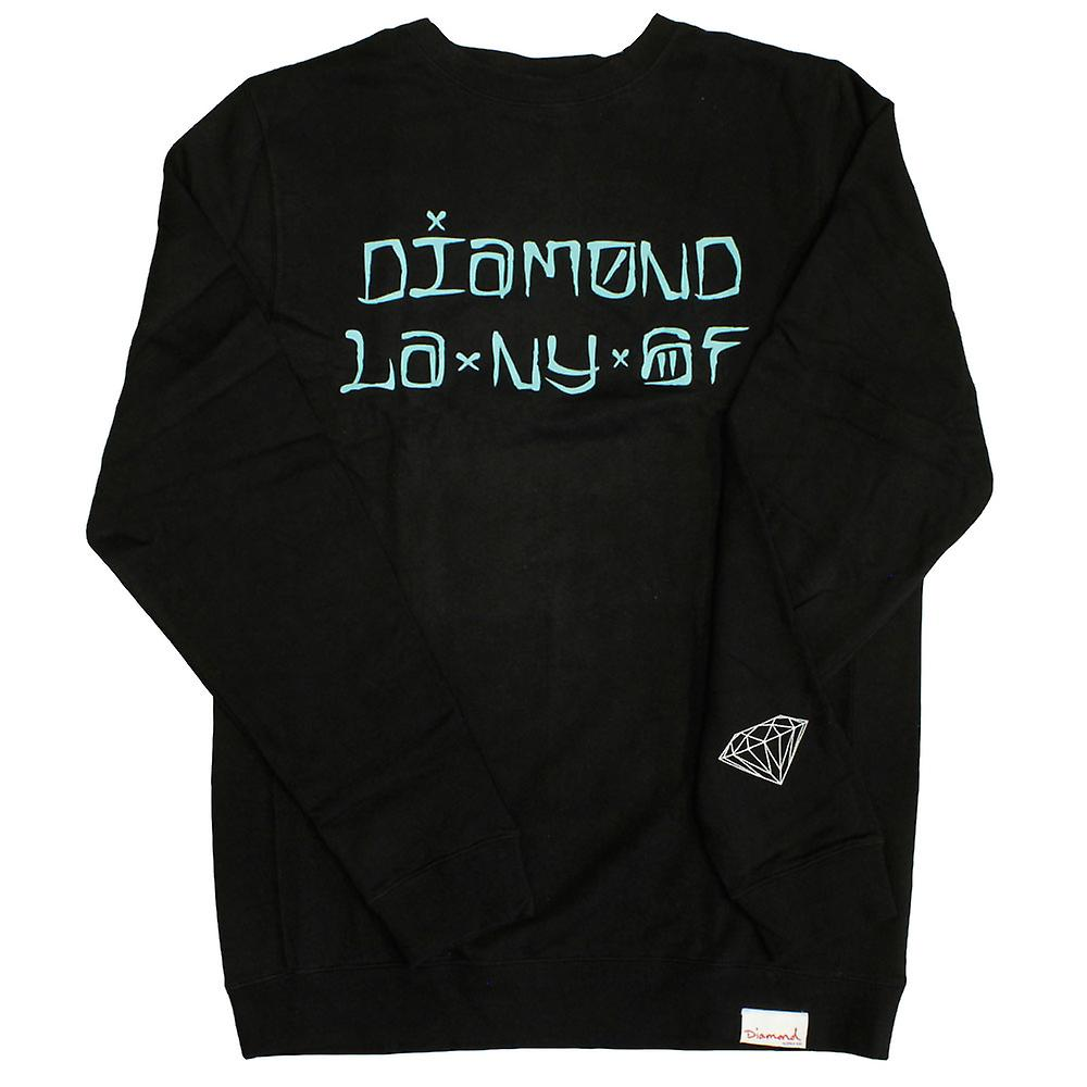 Diamond Supply Co. villes Sweatshirt noir
