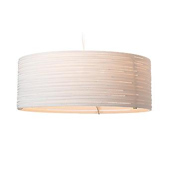 Graypants Drum White Pendant Light 36 inch - E27