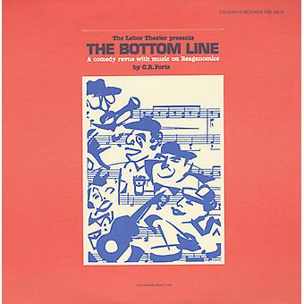 Labor Theater (New York, N.Y.) - Bottom Line: A Comedy Revue with Music on Reagonom [CD] USA import