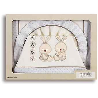 Interbaby Triptico Maxicuna 100% Cotton Model Baby Bunny