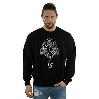 Harry Potter Men's Dark Mark Crest Sweatshirt