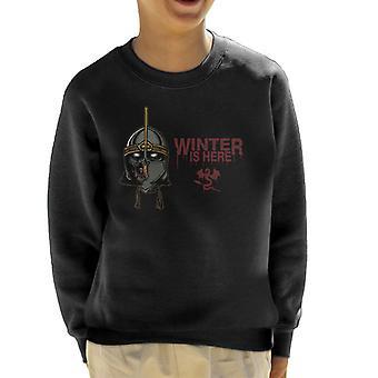 Game Of Thrones Grey Whitewalker Kid's Sweatshirt