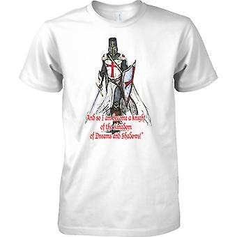 Chevalier du Royaume - Saint-Georges - Angleterre patriote - Mens T Shirt