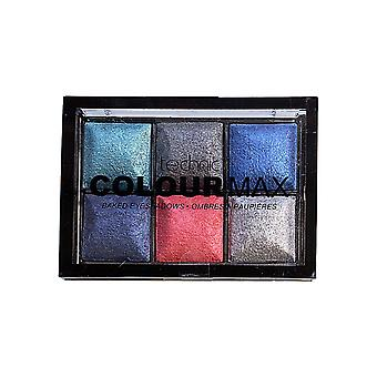 Technic Colour Max 6 Colour Baked Eyeshadows 6x2g