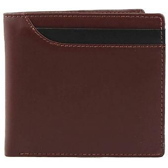 Dents Smooth Leather Billfold Wallet - English Tan