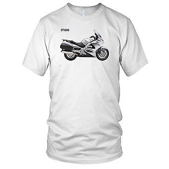 Honda ST1300 klassieke motorfiets Biker Mens T Shirt