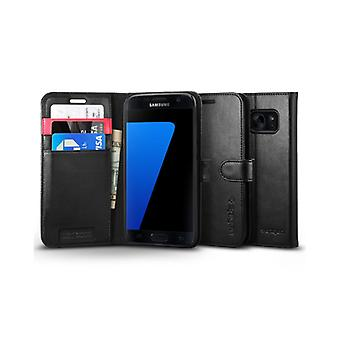 Spigen Wallet S for Galaxy S7 black