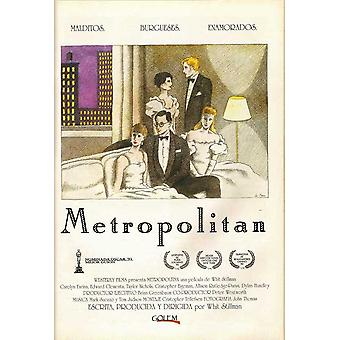 Metropolitan Movie Poster (11 x 17)