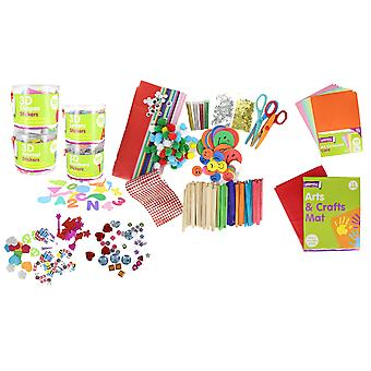 Mega 2620 Piece Ultimate Children's Arts & Crafts Accessories Activity Set