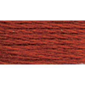 Dmc Tapestry & Embroidery Wool 8.8 Yards Very Dark Burnt Orange 486 7303