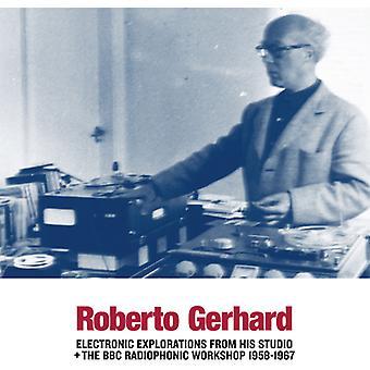 Roberto Gerhard - elektroniske udforskninger fra hans Studio + BBC [CD] USA Importer