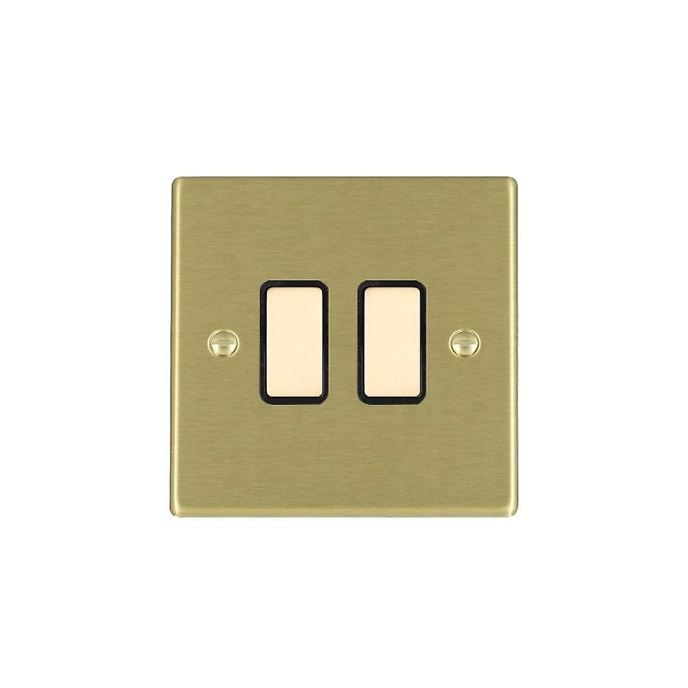 Hamilton Litestat Hartland Satin Brass 2g 250W M-Way Touch Mast SB BL