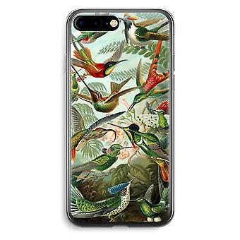 iPhone 7 Plus Transparent Case (Soft) - Haeckel Trochilidae