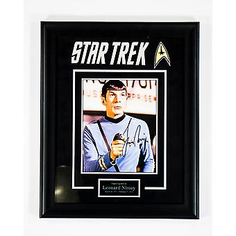 Star Trek - Signed by Leonard Nimoy - Framed Artist Series