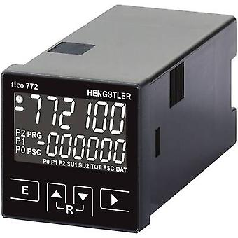 Hengstler tico 772 12 - 30 V/DC 2R WS Multifunctional counter tico 772 12 - 30 V/DC 2R Assembly dimensions 45 x 45 mm