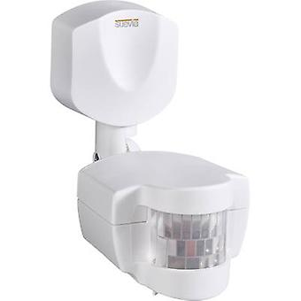 Surface-mount Motion detector Suevia SU135312 180 ° White IP44