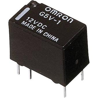 PCB relays 12 Vdc 1 A 1 change-over Omron G5V-1 12