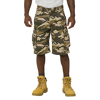 Carhartt Rugged Cargo Camo Shorts - Khaki Work Shorts 100279 294 mens workwear