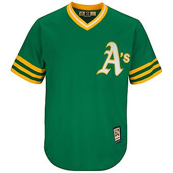 Majestic Cooperstown cool base Jersey - atléticos de Oakland