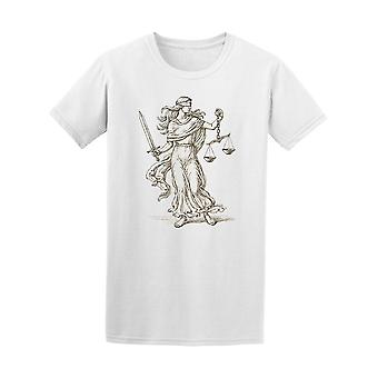 Allegory Of Justice Themis Tee Men's -Image by Shutterstock
