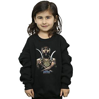 Marvel Girls Black Panther Nakia Poster Sweatshirt