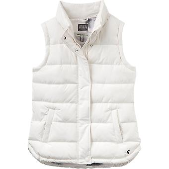 Joules Womens/Ladies Eastleigh Warm Padded Quilt Stitching Gilet Bodywarmer